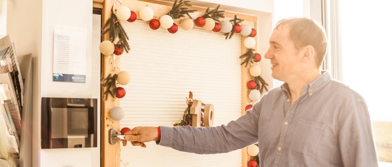 Weihnachten bei Fenster-Schmidinger