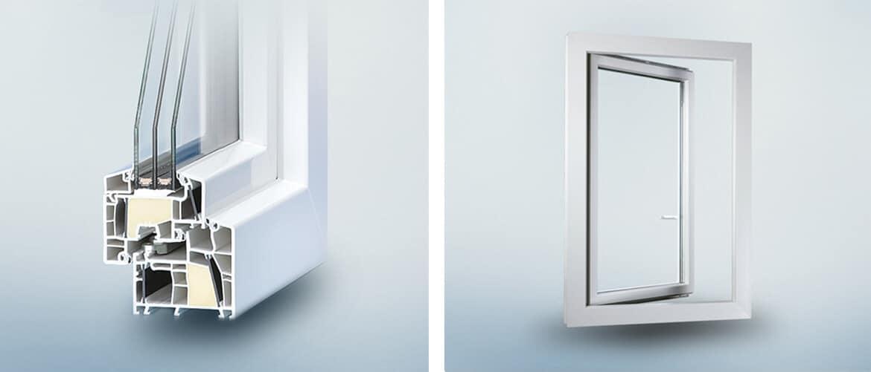 Kunststofffenster - Fenster aus Kunststoff, Plastik / PVC