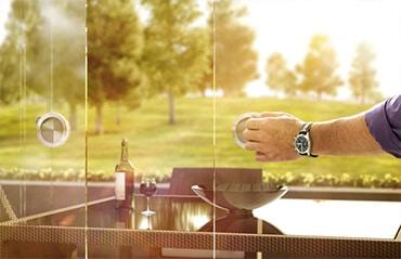 Sunflex Glasschiebetüre SF20