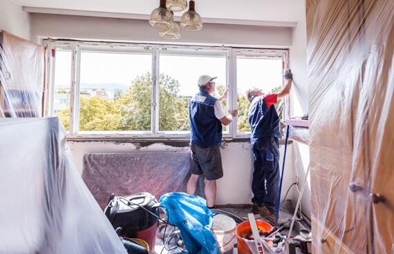 Fenstertausch - ausrichten des neuen Fensters