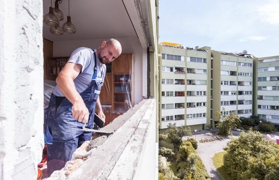 Fenstertausch - Glattanstrich herstellen