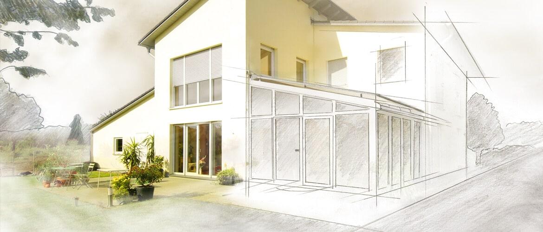 Wintergarten Planung