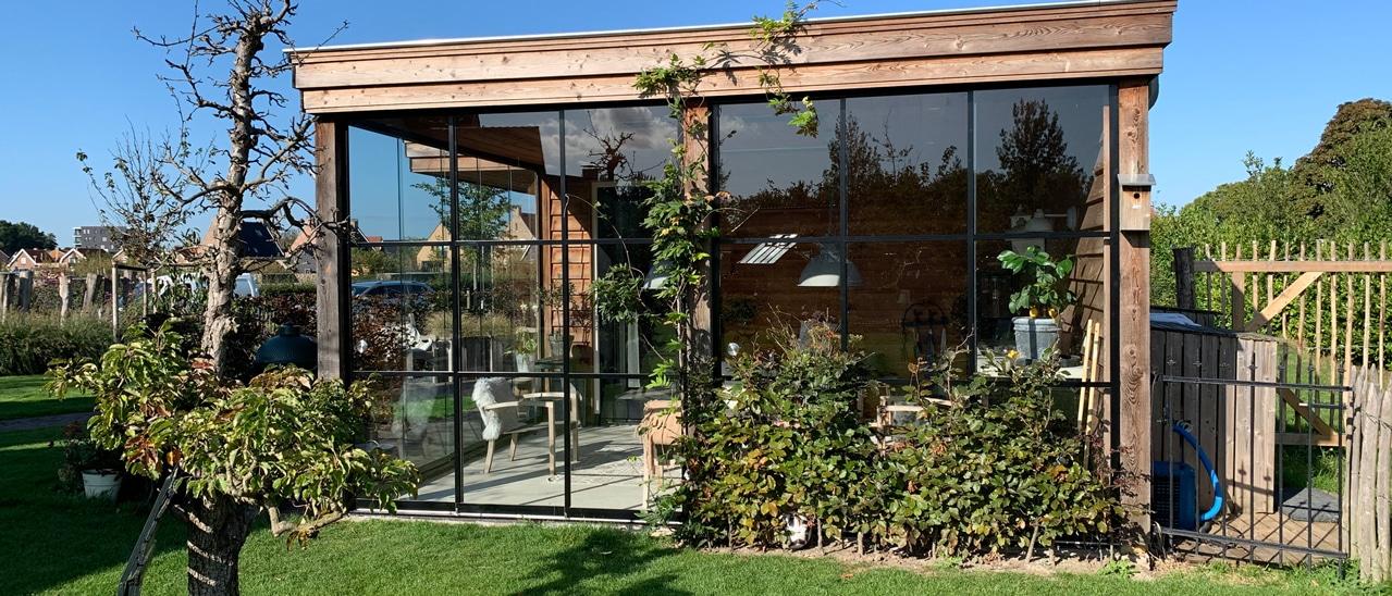 xGartenhausfenster und Schiebetüren nach Maß - Sunflex