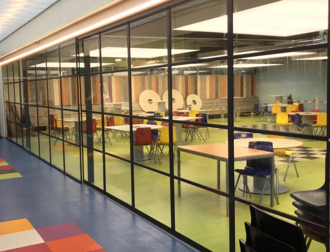Gerahmte Schiebetüren Loft-Style für den Innenbereich
