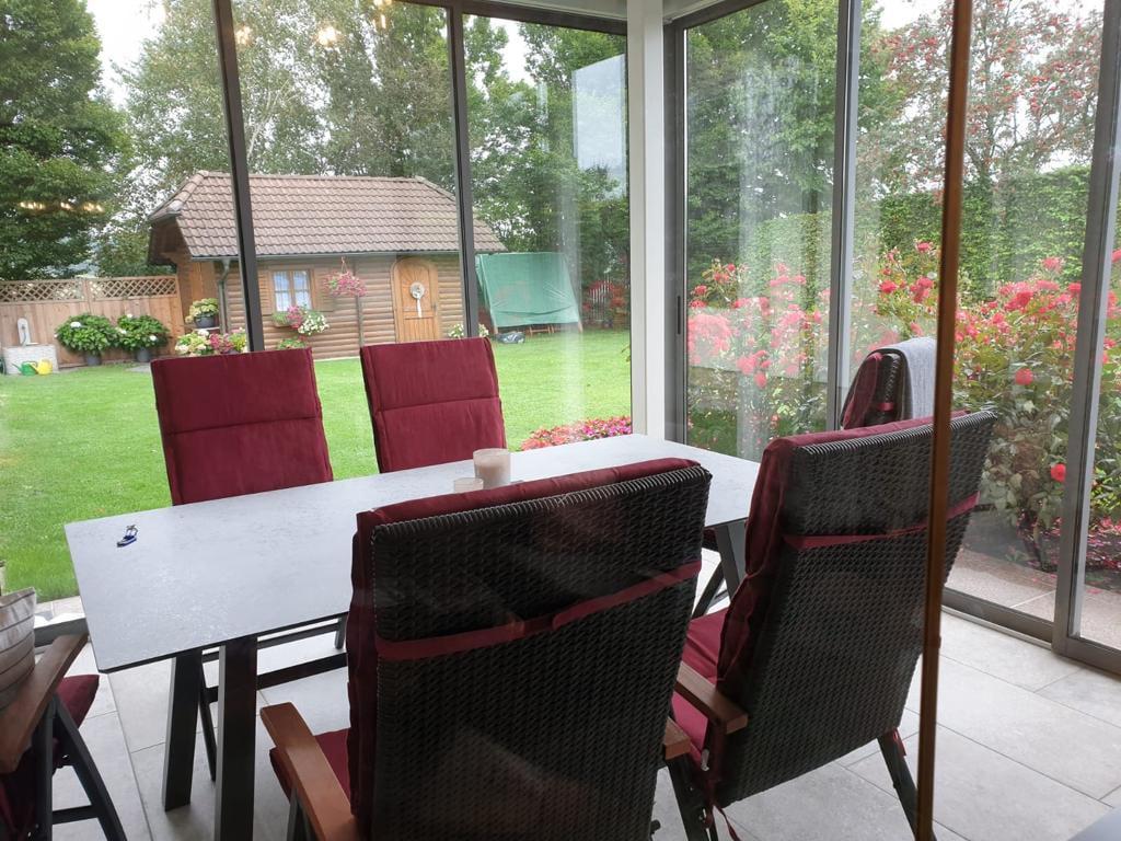 Gerahmte Schiebetüren Neher Multiraum für Terrasse