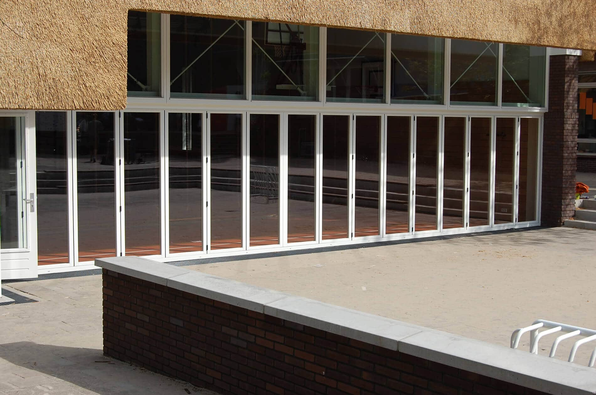 Glas Falttüren nach Maß für außen