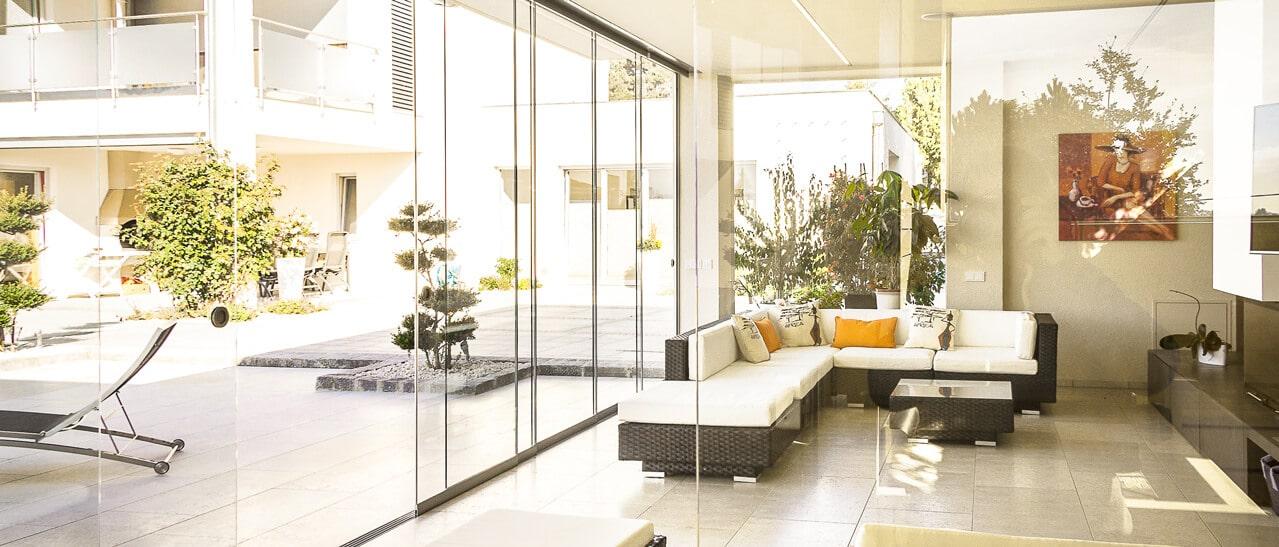 Glas zur Wohnraumgestaltung - OÖ