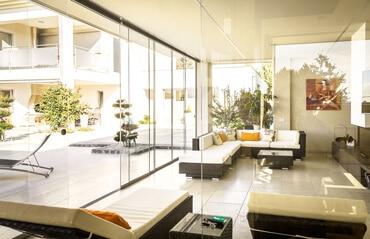 Glas zur Wohnraumgestaltung