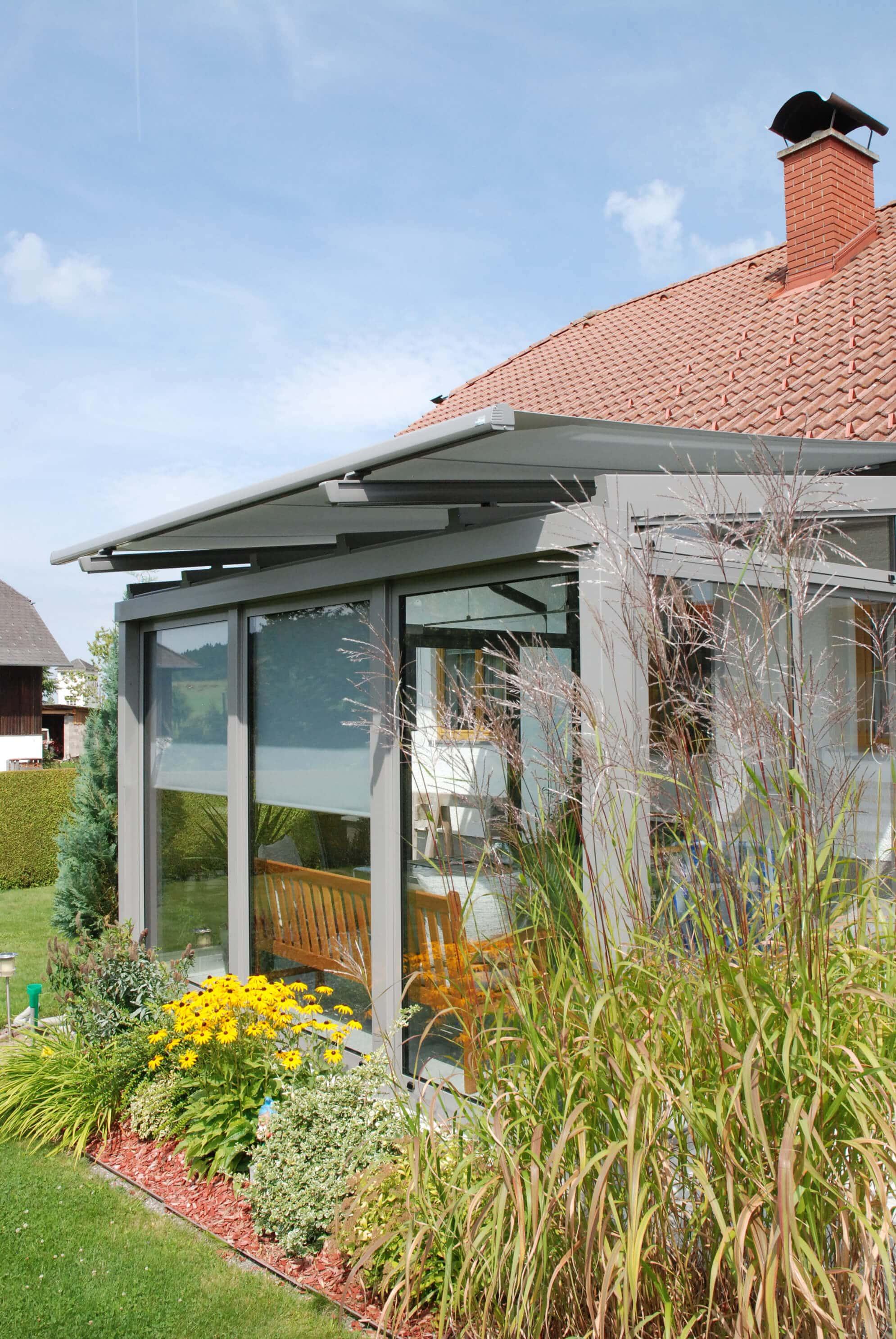 Glasfaltanlage Wintergarten