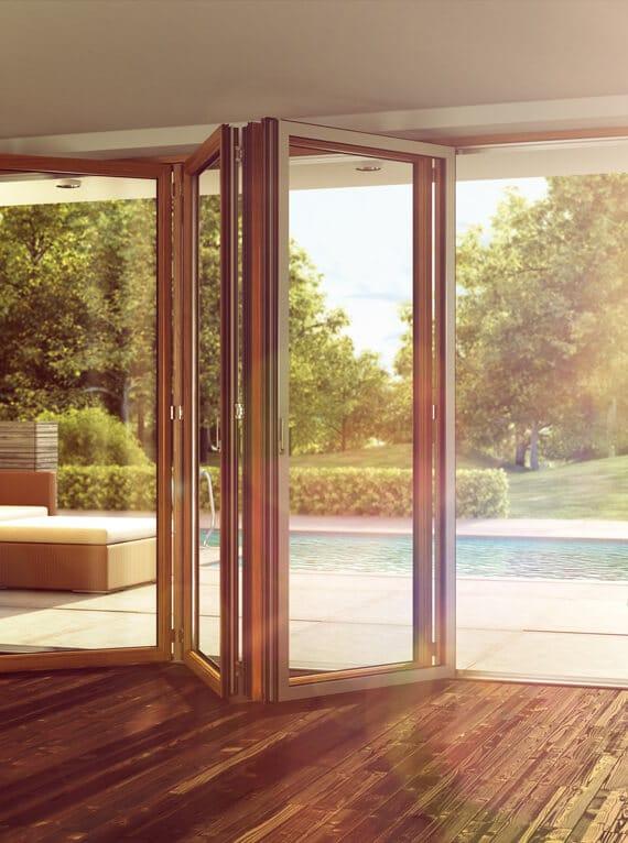 Glasfaltwand Sunflex SF 35 Funktion