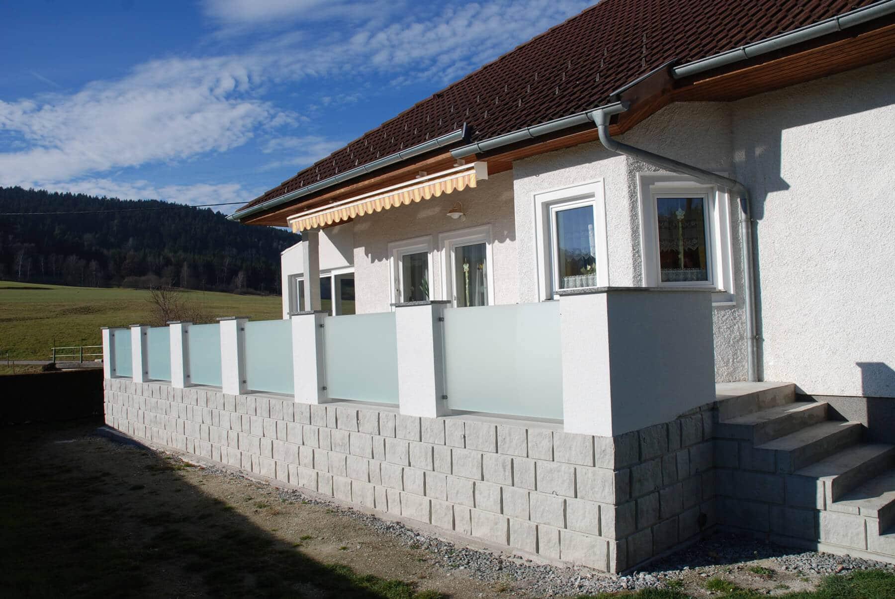 Aluminium Glas Schiebetüren für Terrasse Fenster Schmidinger