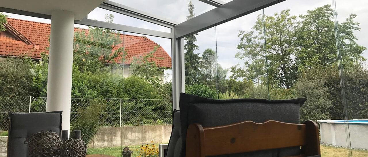 Glashäuser zum Wohlfühlen