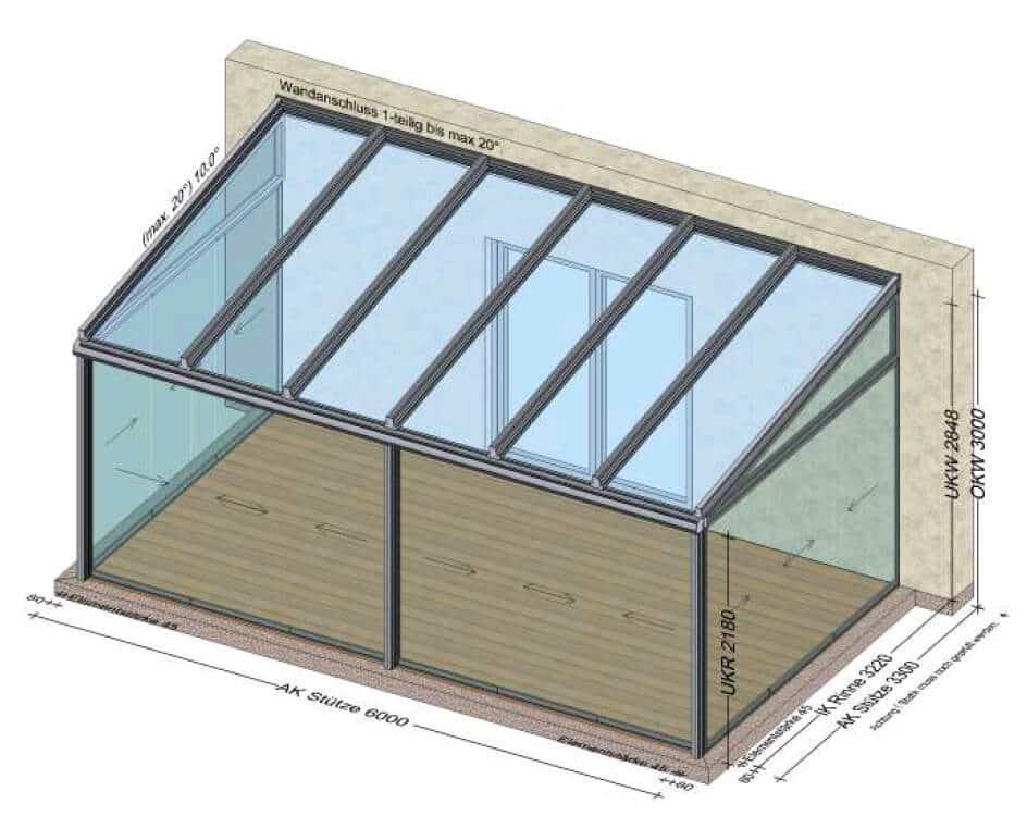 Glashaus Wintergarten Preise