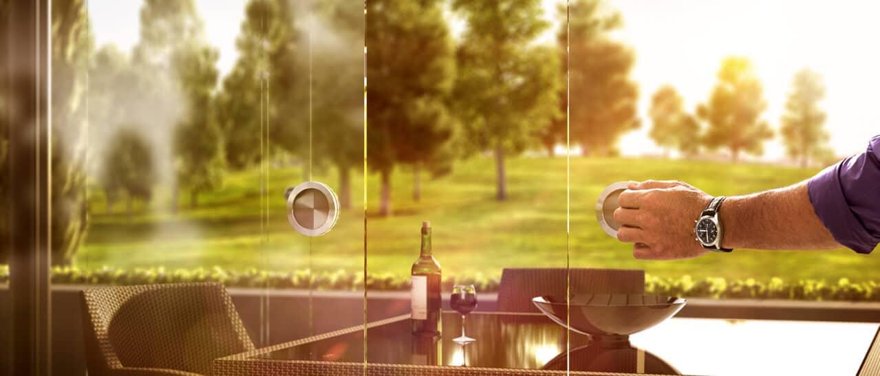 Glasschiebe-System-Sunflex