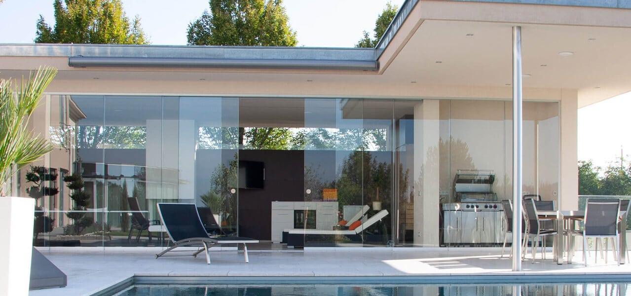 Glasschiebesysteme für Terrassen