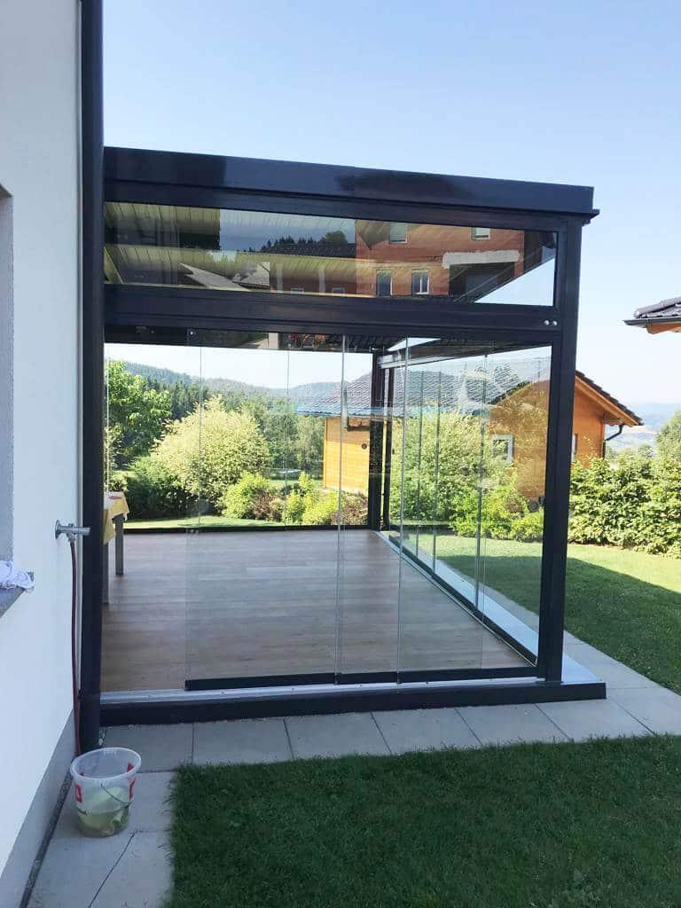 Glasschiebesysteme für Wintergarten
