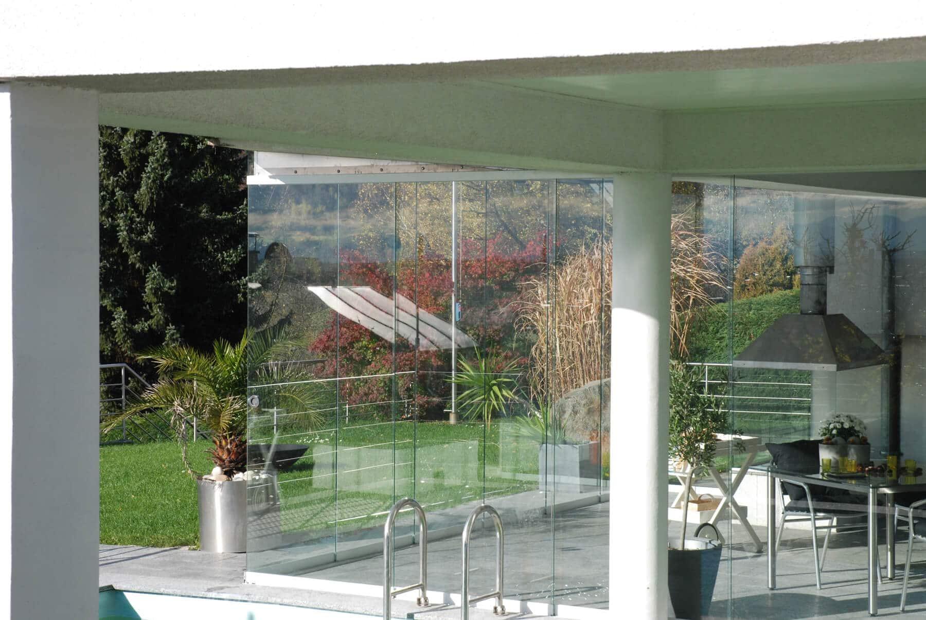 Glasschiebetüren abschließbar