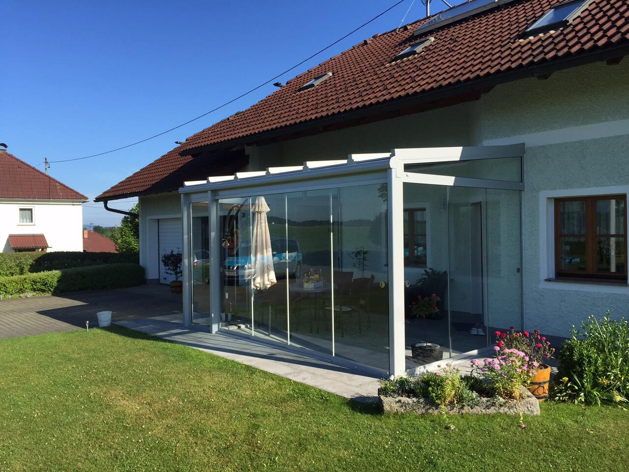 Glasschiebetüren Außenbereich