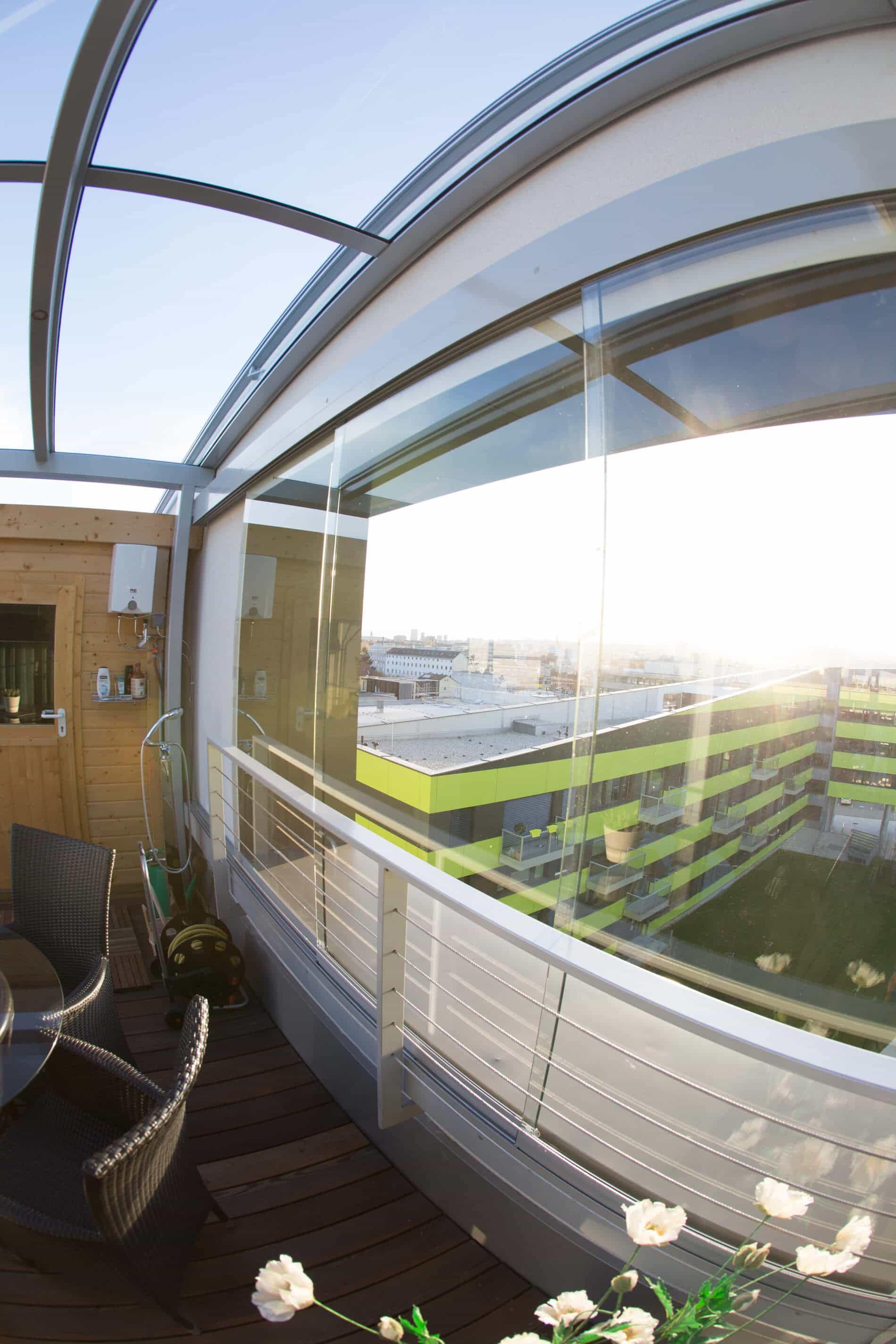 Glasschiebewände Terrassen Exakt Nach Maß Produziert Und Mit Eigenen