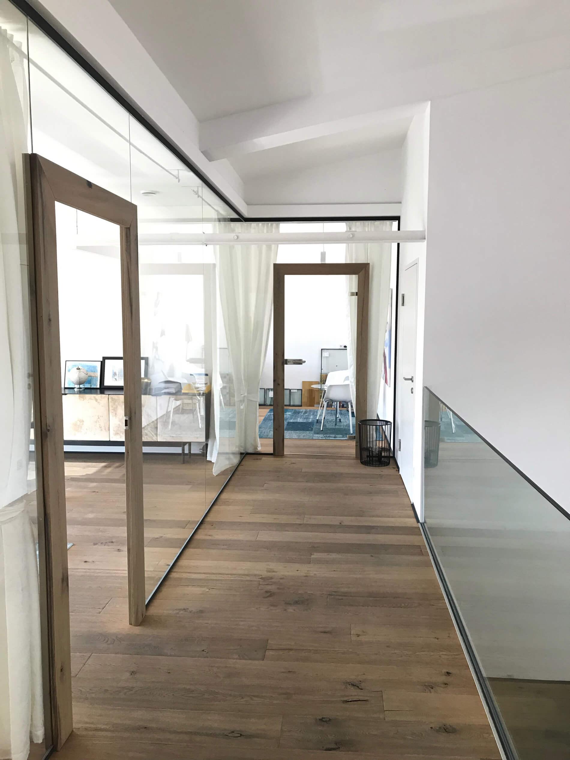 Glastrennwände für innen - Glaser Oberösterreich