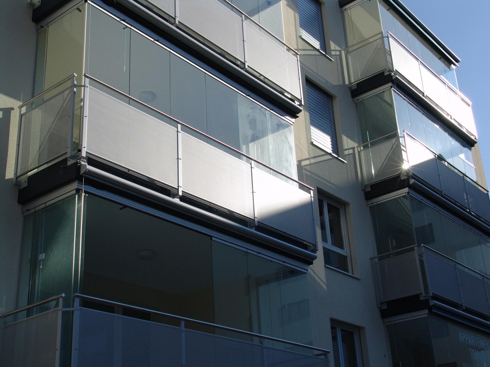Glastüren Schiebetüren Balkone