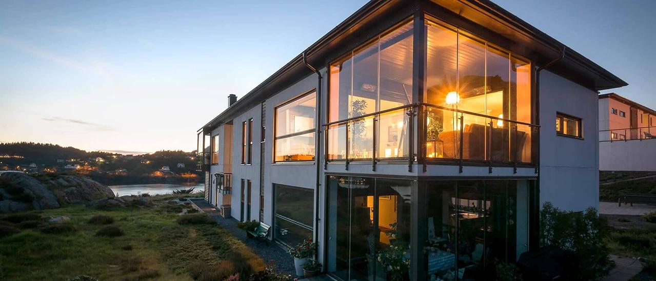 Großflächige Fenster - Vor- und Nachteile großer Fenster