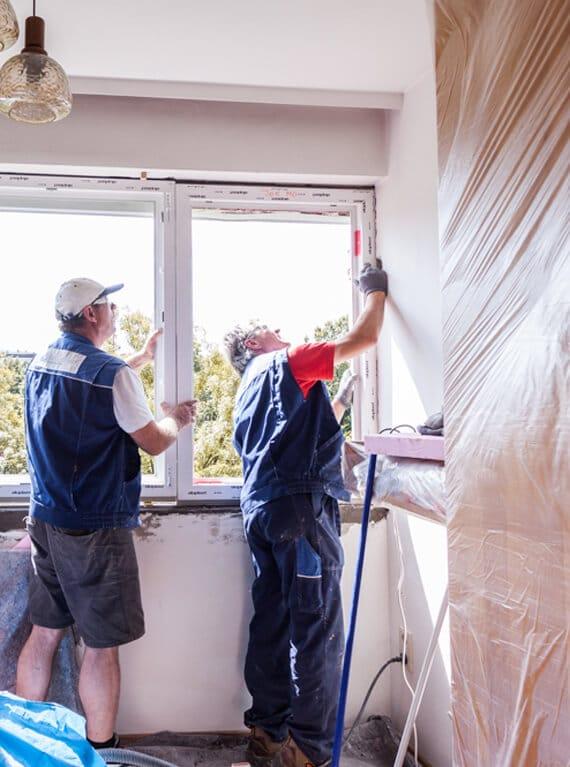 Handwerkerbonus Fenstermontage