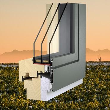 Hochwärmedämmende Fenster Oberösterreich