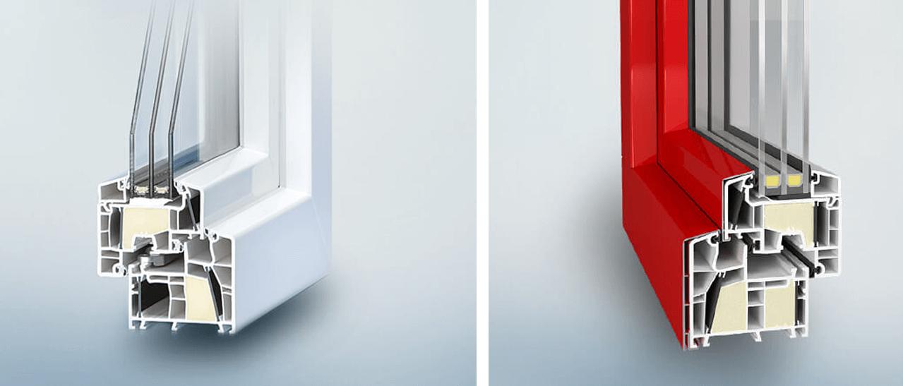 Hochwärmedämmende Fenster