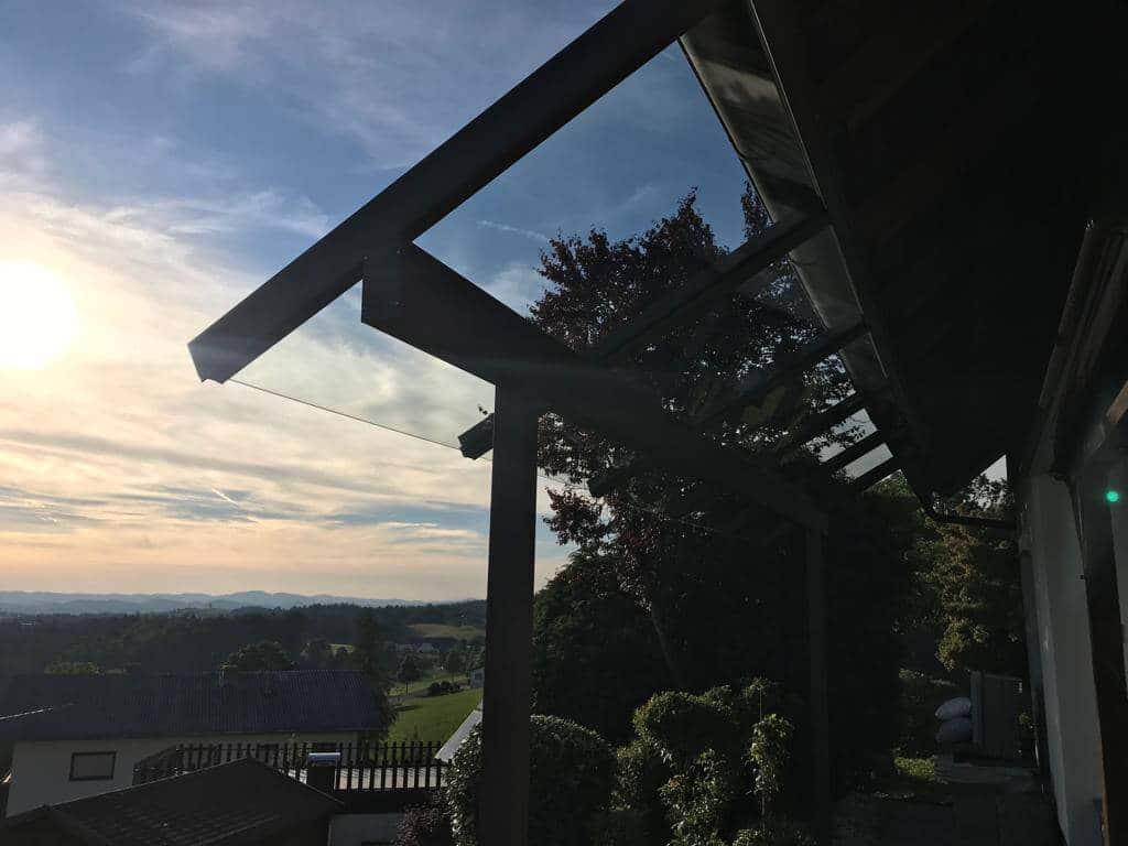 Hochwertige Terrassenüberdachung Oberösterreich