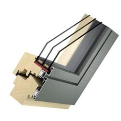 Holz Alu Fenster Basic Slim