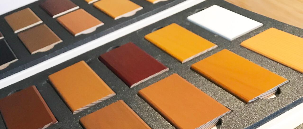 Holz Alu Fenster Farben
