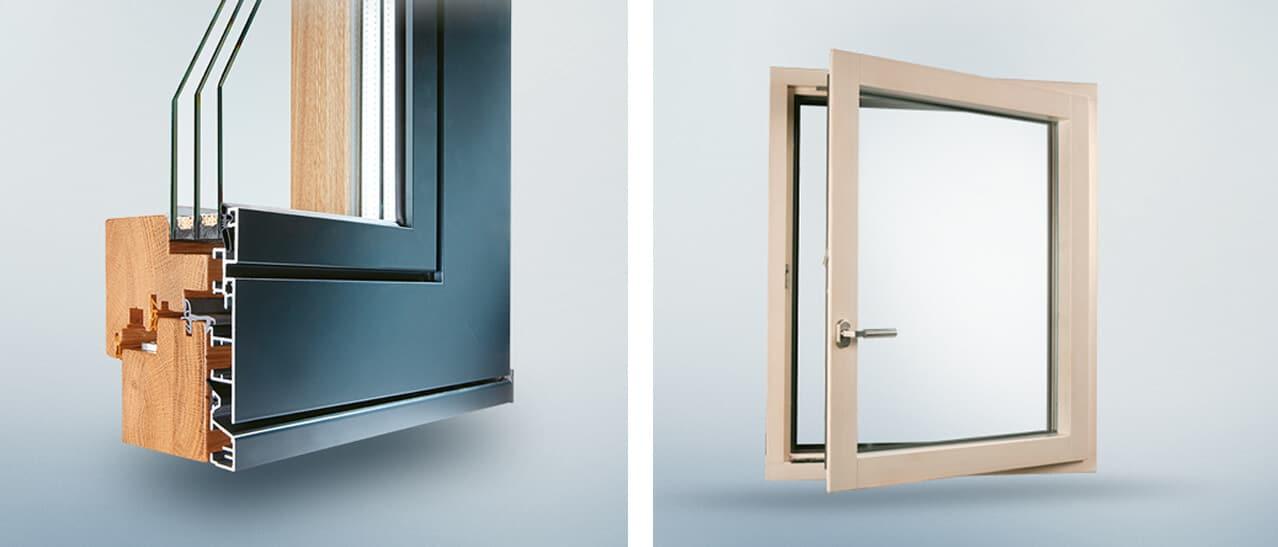Holz alu fenster vorteile  Holz-Aluminium-Fenster Ideal Plano - Fenster-Schmidinger