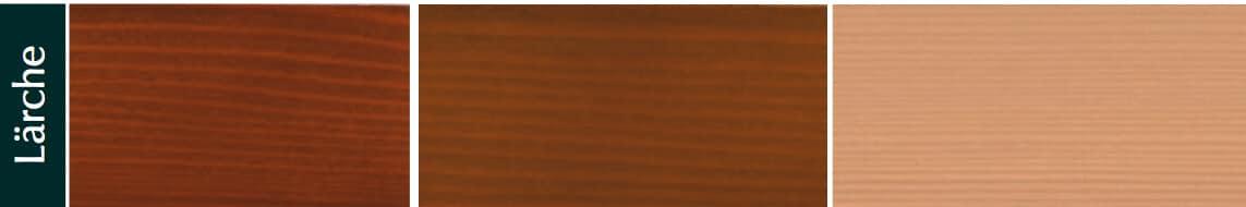 Holzarten Lärche für Holzfenster