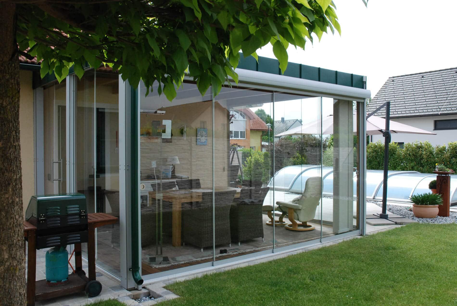 Kosten Sommergarten Glas
