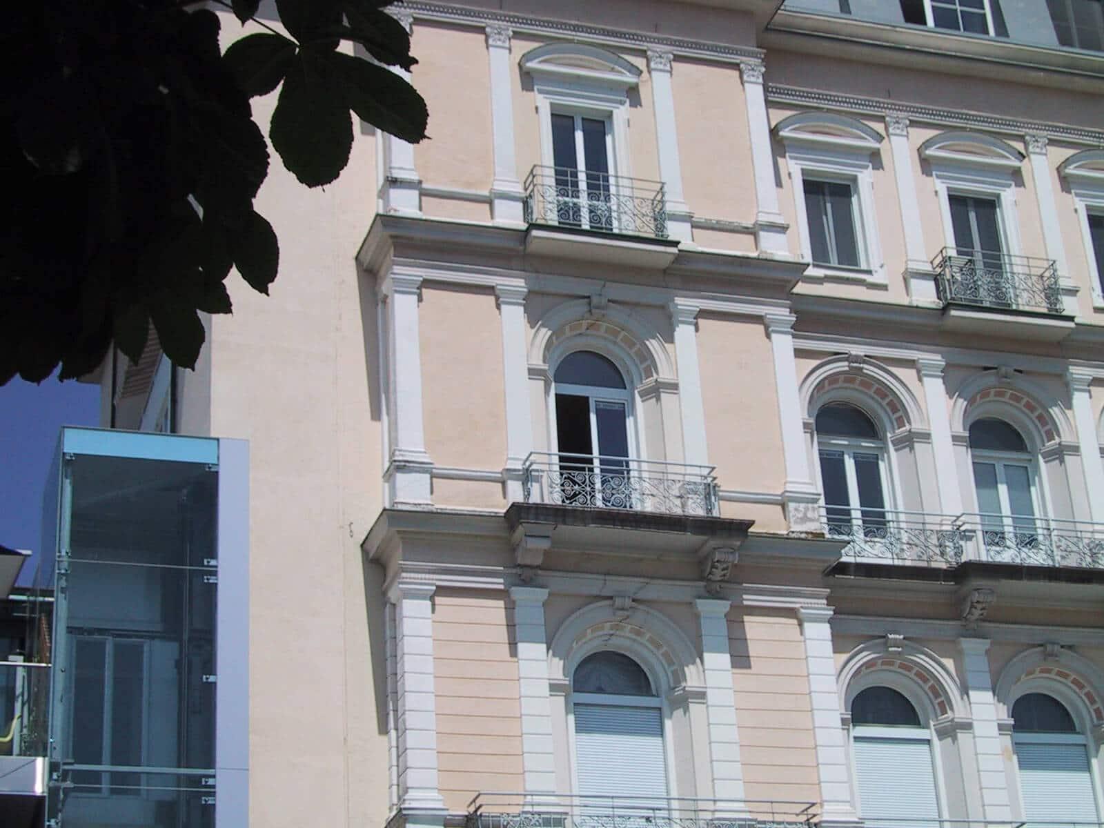 Kunststofffenster für Wohnhaus Schallschutz