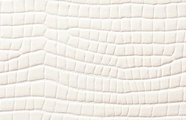 Leder für Türen in weiß