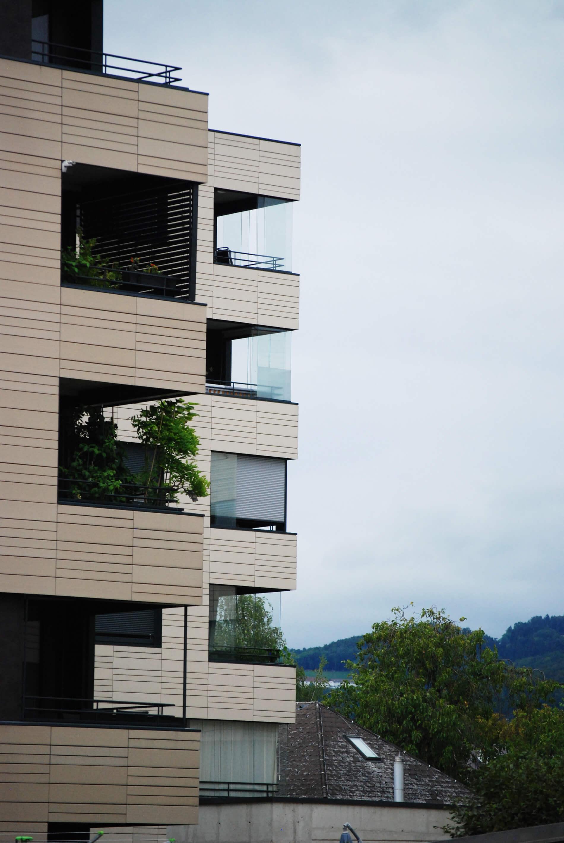Loggiaverglasung Schiebefenster