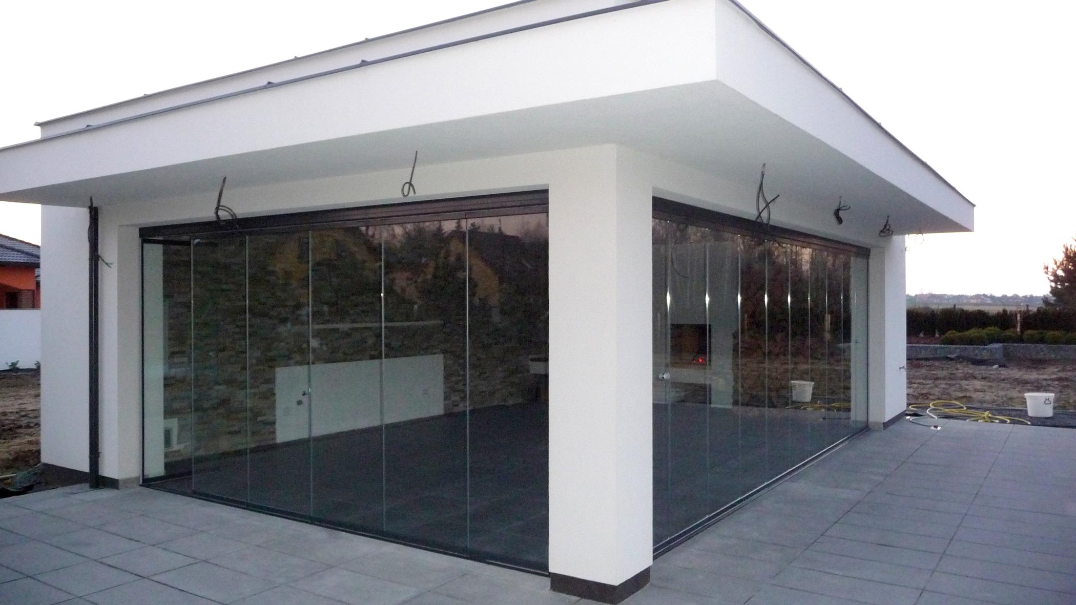 Luxus Pool- und Gartenhäuser mit Schiebetüren