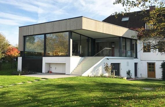 Modernes Poolhaus Wellness