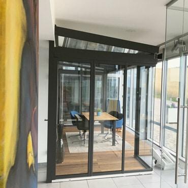 Neuer Chill-Lounge® Sommergarten aus Glas