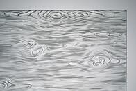 Ornamentglas Madera weiß