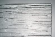 Ornamentglas Niagara weiß
