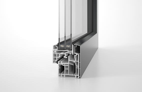 Querschnitt Designfenster