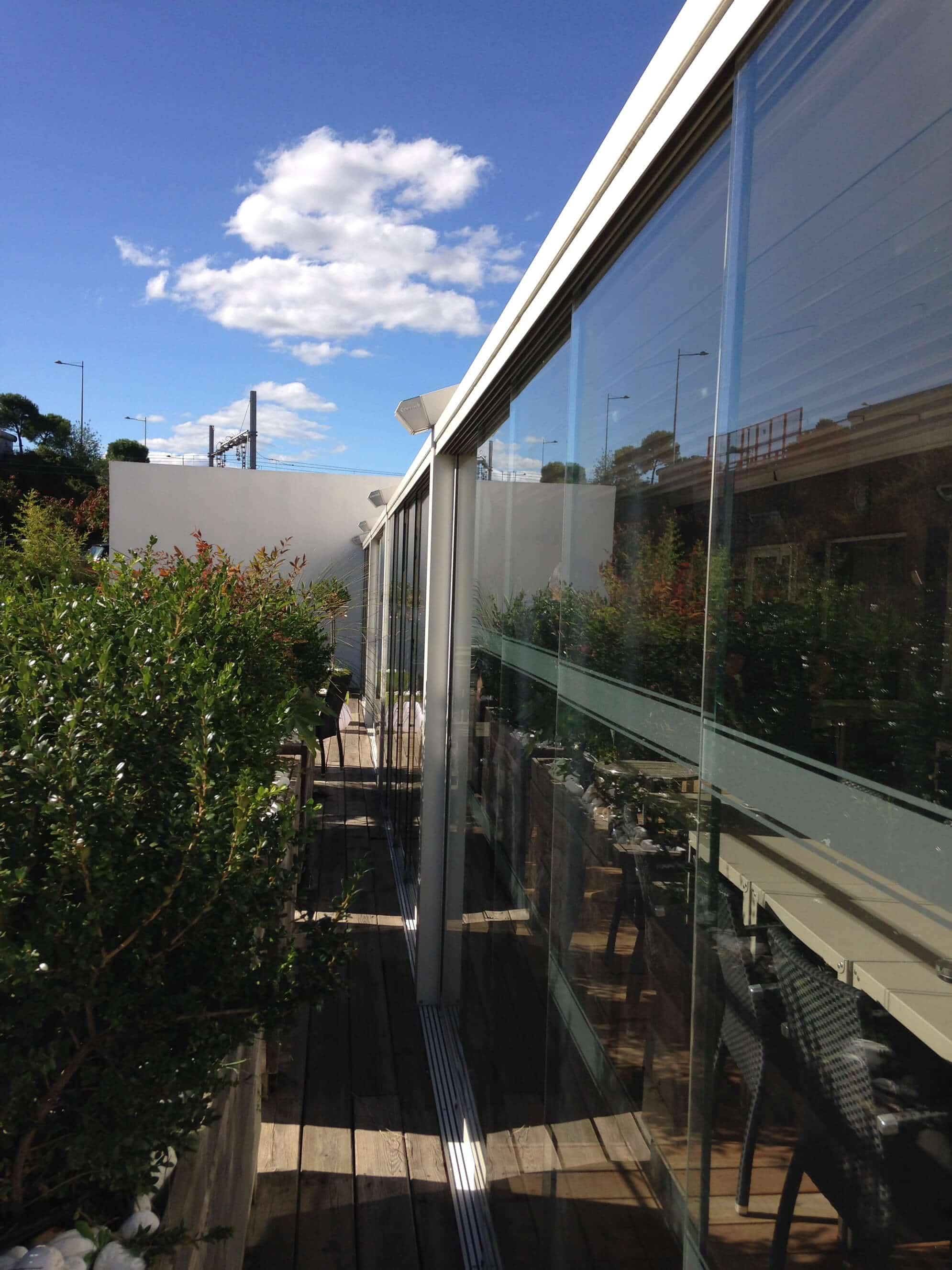Rahmenlose Terrassenverglasung Preise
