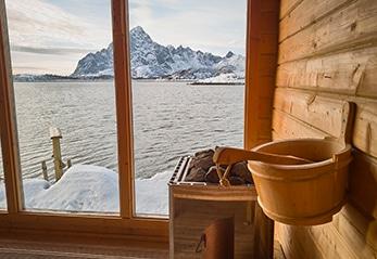 Sauna Fenster