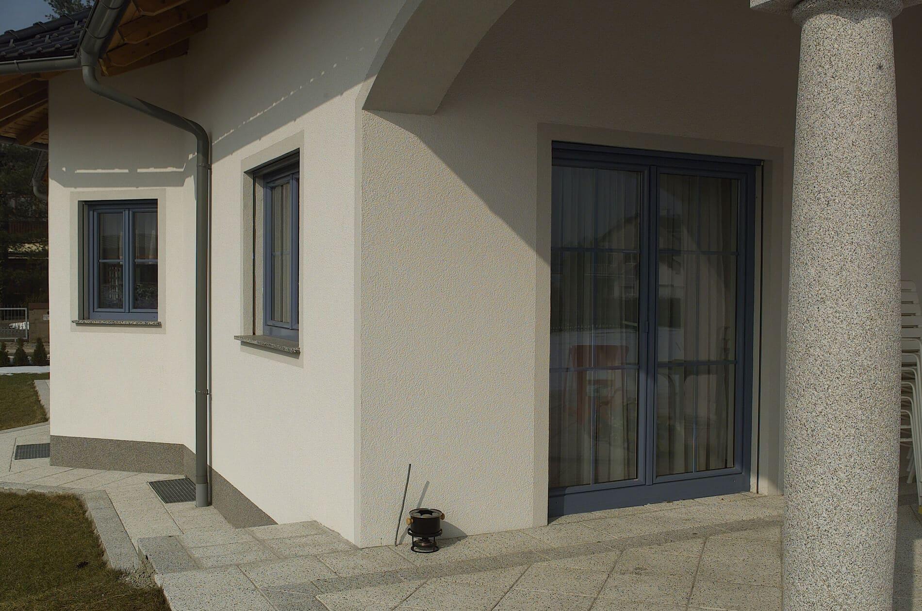 Anspruchsvoll Hauseingang überdacht Sammlung Von Schallisolierte Fenster