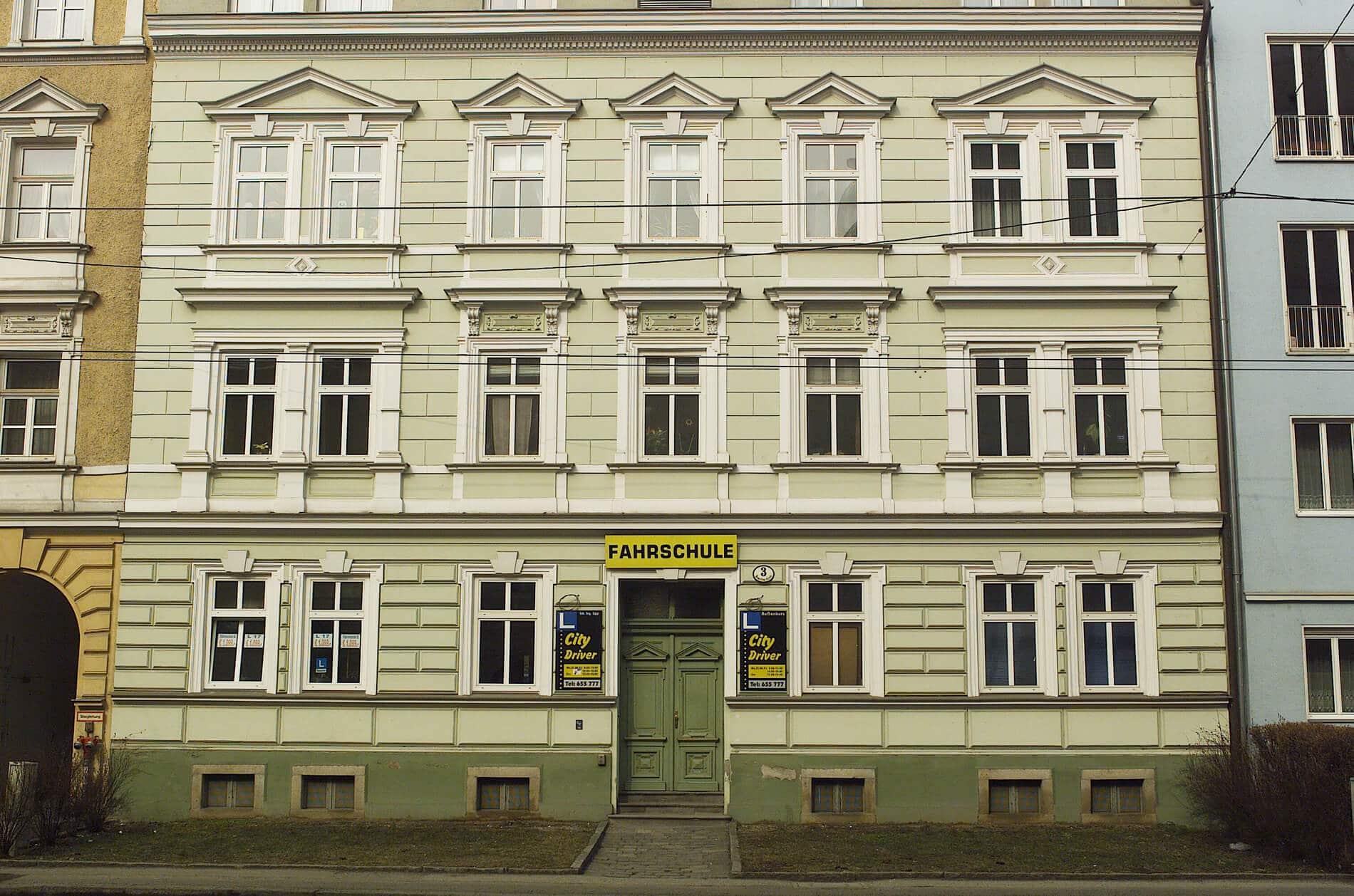 Schallschutzfenster für Wohnhaus