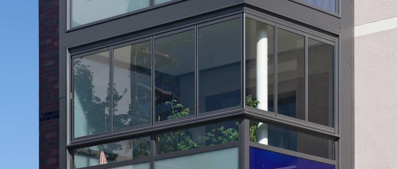 Schallschutzverglasung Balkon
