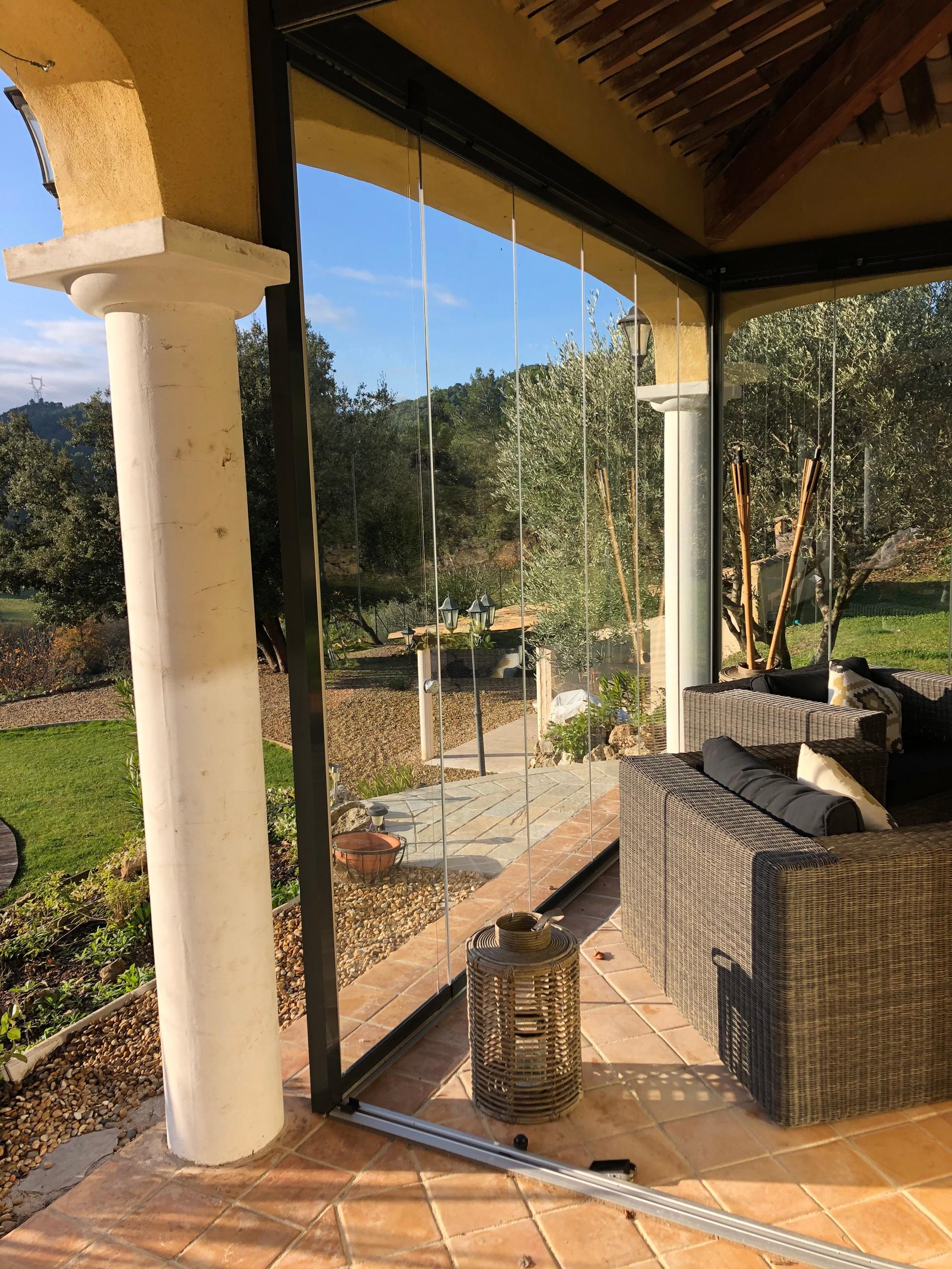 Schiebe-Dreh-Systeme Glas für außen